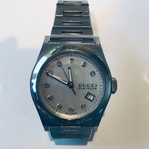 Gucci Pantheon Diamond Watch